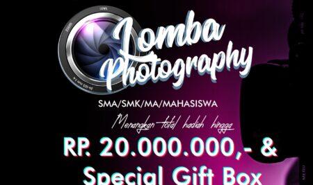Lomba Photography 2021, Hadiah Hingga 20 Juta