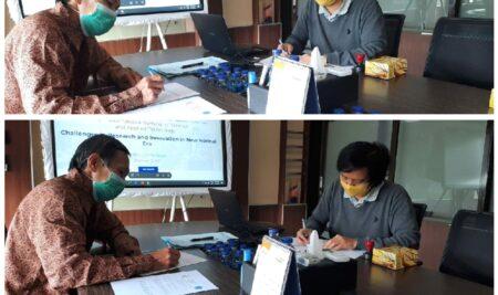 """Sepakat ! STMIK """"AMIKBANDUNG"""" dan Politeknik Negeri Bandung Bekerja sama dalam ISSAT 2021."""