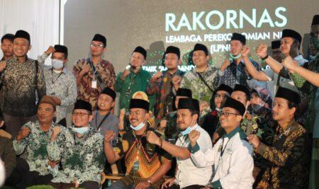 Prof. Dr. KH. Said Aqil Siradj Hadiri Rakornas LPNU 2021